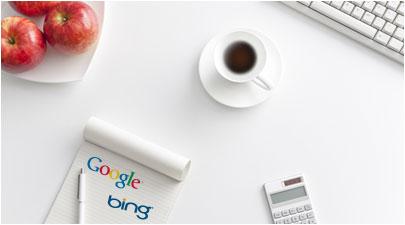 bing google